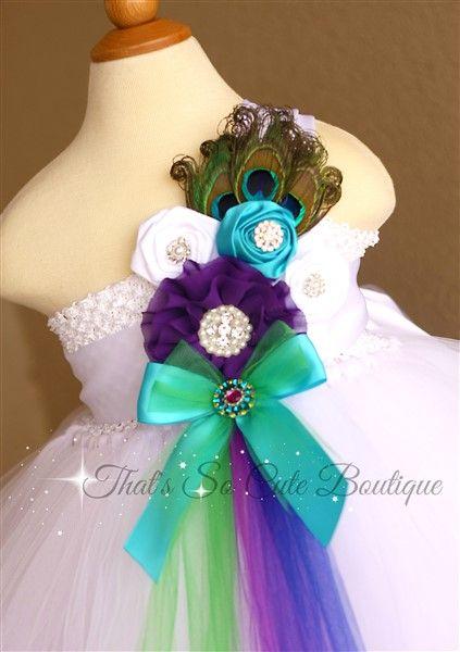 1000+ ideas about Peacock Wedding Dresses on Pinterest ... - photo #33