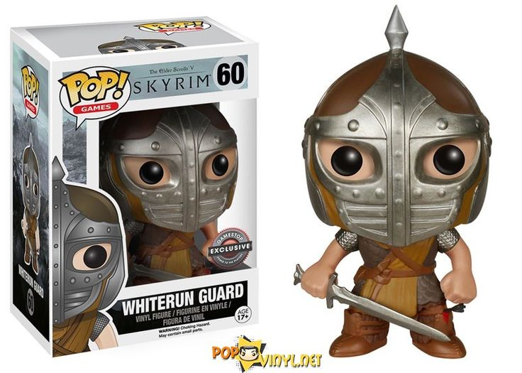 Game Stop Skyrim Whiterun Guard Exclusive