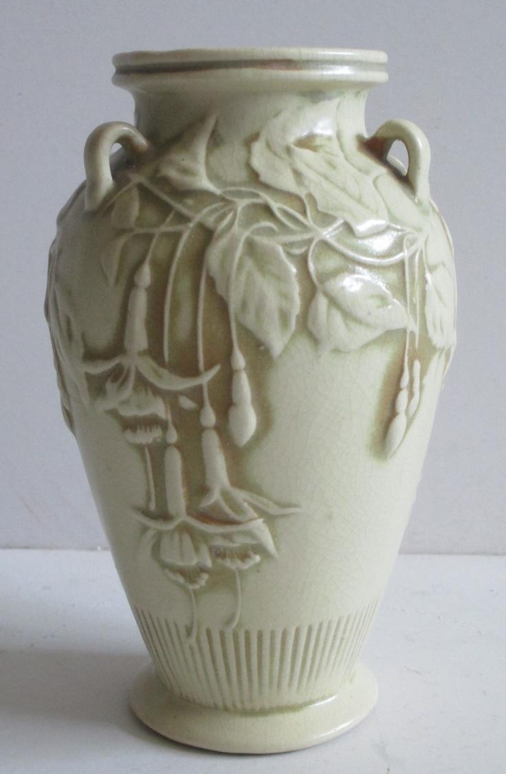200 best vintage glass pottery glass images on pinterest blue antique vintage art pottery deco nouveau crafts floral daturas vase sculpture ebay floridaeventfo Choice Image