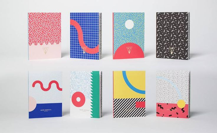 Memphis Notebooks Collection Characterized by the 80s Postmodernist Italian graphic style Super notebooks collection by OfficeMilano is a tribute to Ettore Sottsass Alessandro Mendini and all the Memphis Group key players of an unforgettable period for the Italian design. The collection is composed by 4 coloured fun and ironic notebooks full of patterns and expressive geometries. Available here. #xemtvhay