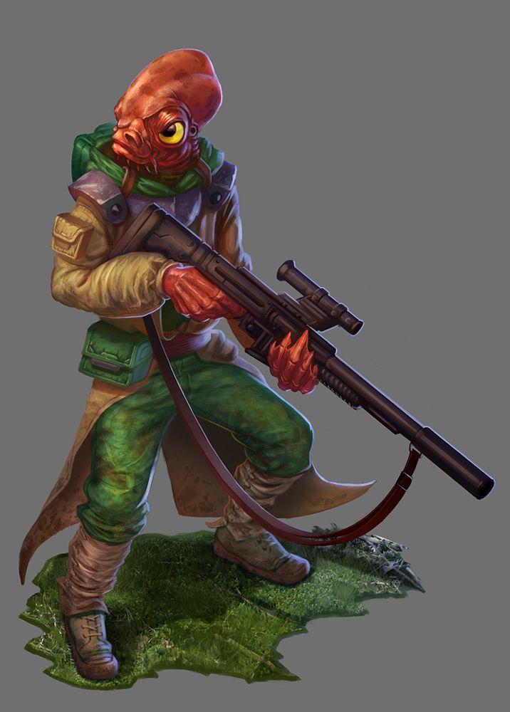 Loku Kanoloa - Star Wars: Return to Hoth Expansion by jubjubjedi.deviantart.com on @DeviantArt