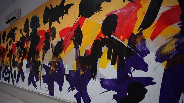Opera dell'artista contemporaneo Vittorio Amadio - Centro 'Arte On' a Castel di Lama.