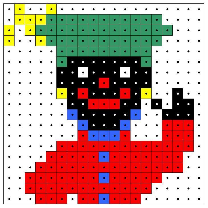 KleuterDigitaal - wb kralenplank zwarte piet 01