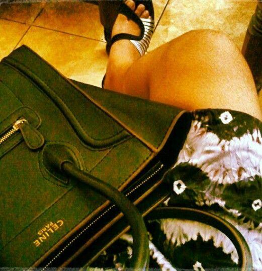 traditional motif from Palembang meets Celine bag