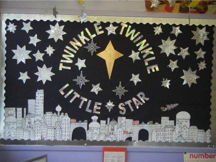 Twinkle Twinkle Little Star classroom display photo - Photo gallery - SparkleBox