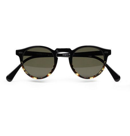 Oliver Peoples Gregory Peck Polarised Acetate Sunglasses | MR PORTER