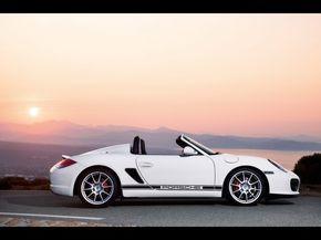 2010 Porsche Boxster Spyder...Racing the sun....
