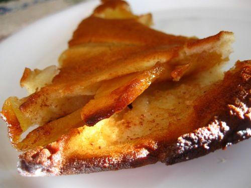 Baked Apple Pancake recipe also known as Dutch Baby or German Apple Pancake.