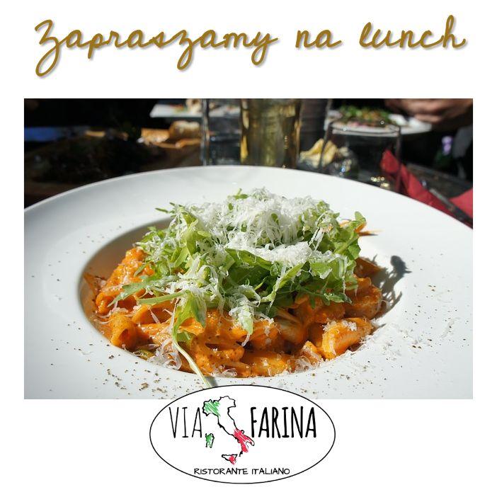 ✪ LUNCH TIME ✪  Dzisiaj szef kuchni proponuje jeden z pysznych makaronów :)  KTÓRY WYBIERACIE? MACIE SWÓJ ULUBIONY?  ☛ Wszystkie dania, znajdziecie oczywiście w naszej karcie ☛ http://www.viafarina.pl/o-nas/ ☚  ✪ Zapraszamy ✪  #restauracjawłoska #Niepołomice #Kraków #Wieliczka #Pizza #Italia #menu #Obiad #lunch #kręgle #pysznejedzenie #zaproszenie #nawynos #dostawa
