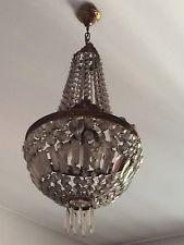 LAMPADARIO A GOCCIA IN Vetro Vintage  Illuminazione-arredamento
