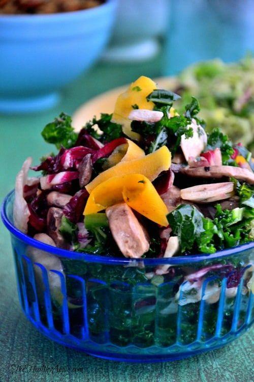 Ribbon Butternut Squash & Kale Salad