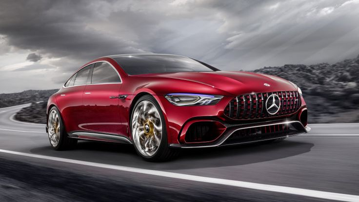 Mercedes-AMG GT concept has 805 hybrid horses and four doors - Autoblog