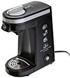 IFill - Travel Size K Cup Coffeemaker Single Serve Brewing System Coffee Machine, Black - Includes Free 6 Units of K Cups Filter, Reusable up to 10 times