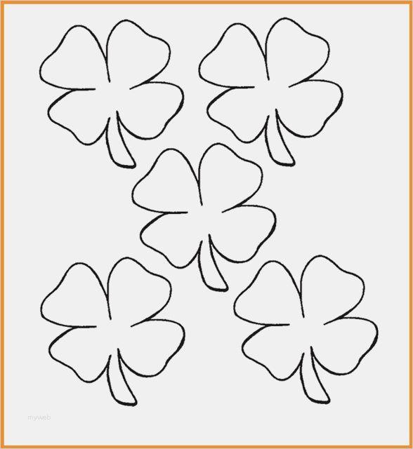 Pin von karolien auf crea activiteit Kleeblatt vorlage
