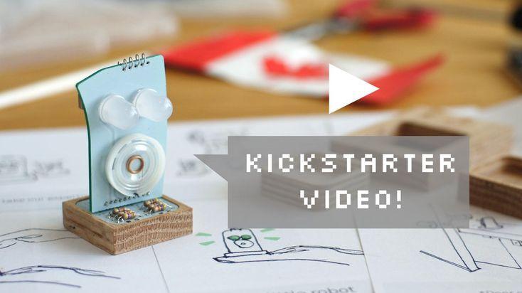 Little Robot Friends - Kickstarter Project of the Day!