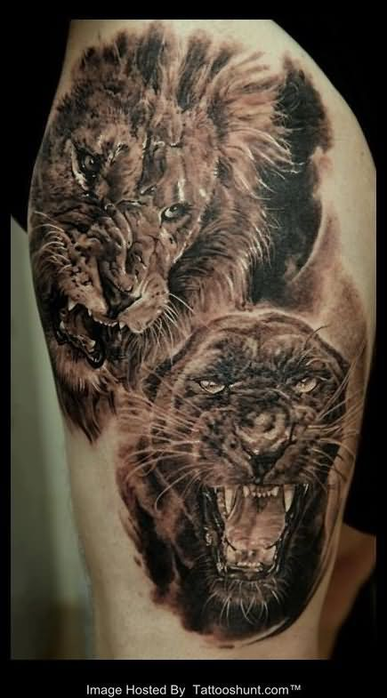 43 best lion paws tattoo 3d images on pinterest for Lion paw tattoo