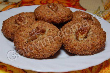 рецепт Овсяное печенье