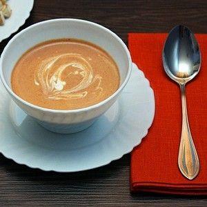 Томатный суп-пюре со сливками