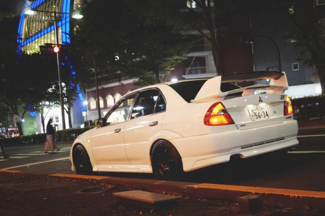Tokyo, Day 4 clean EVO 6 carspotting