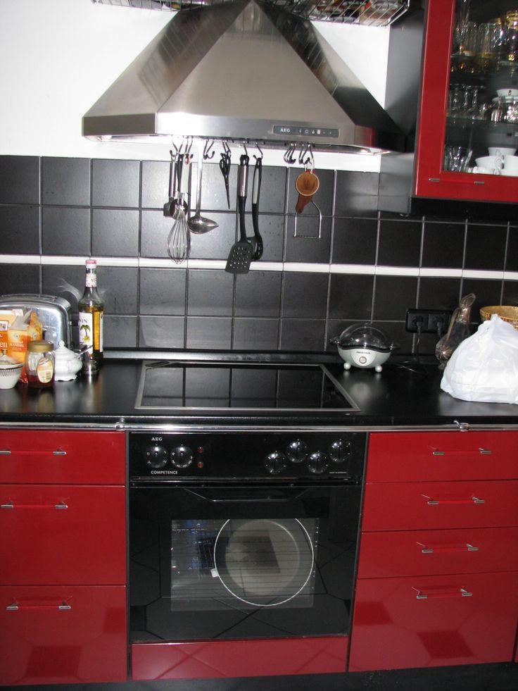 Küchenzeile auf der anderen Seite