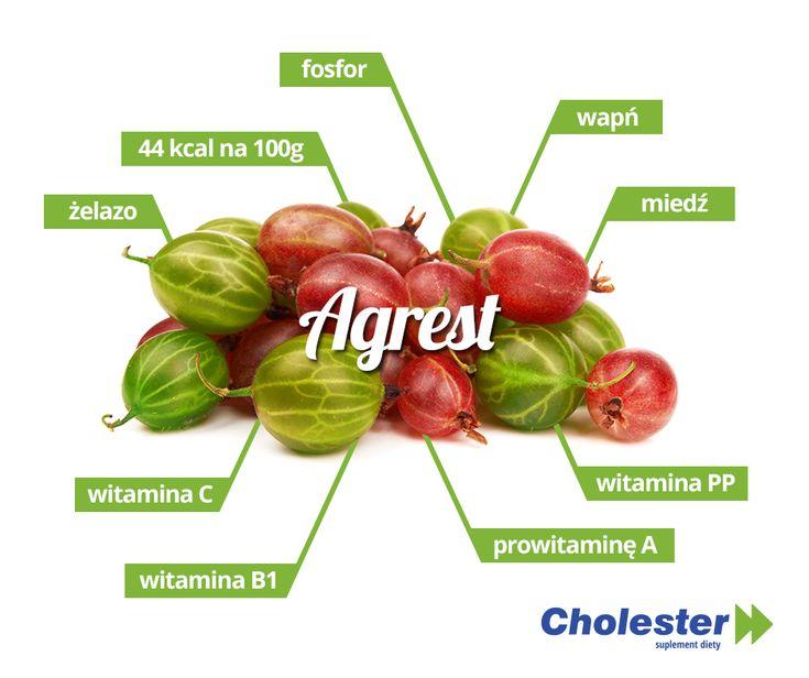 Agrest  - skarbnica zdrowia i smaku.   #cholester #agrest #jedzenie #owoce