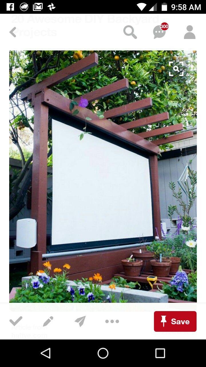 best 25 outdoor projector screens ideas on pinterest backyard
