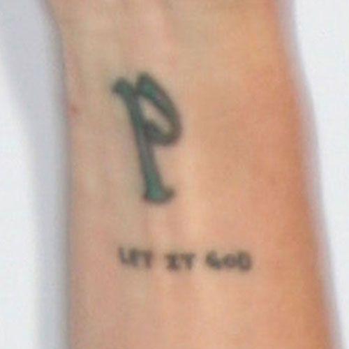 Pauley perrette p let it god tattoo abby sciuto ncis for Ncis abby tattoo