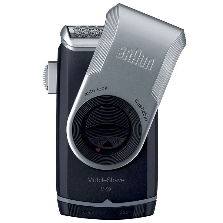 Personal Edge : Braun M-90 Pocket Go Battery Shaver