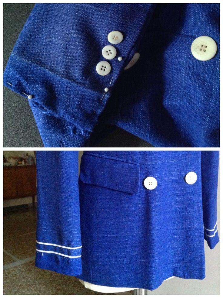 Personalizzazione giacca: allungamento maniche
