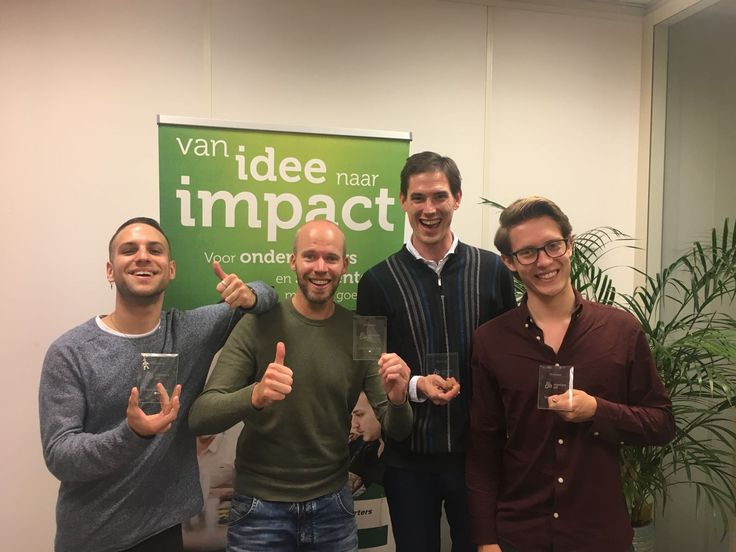 Winners of the 'Starterslift Experiment Day' at the Incubator, Tilburg [10-10-2017]