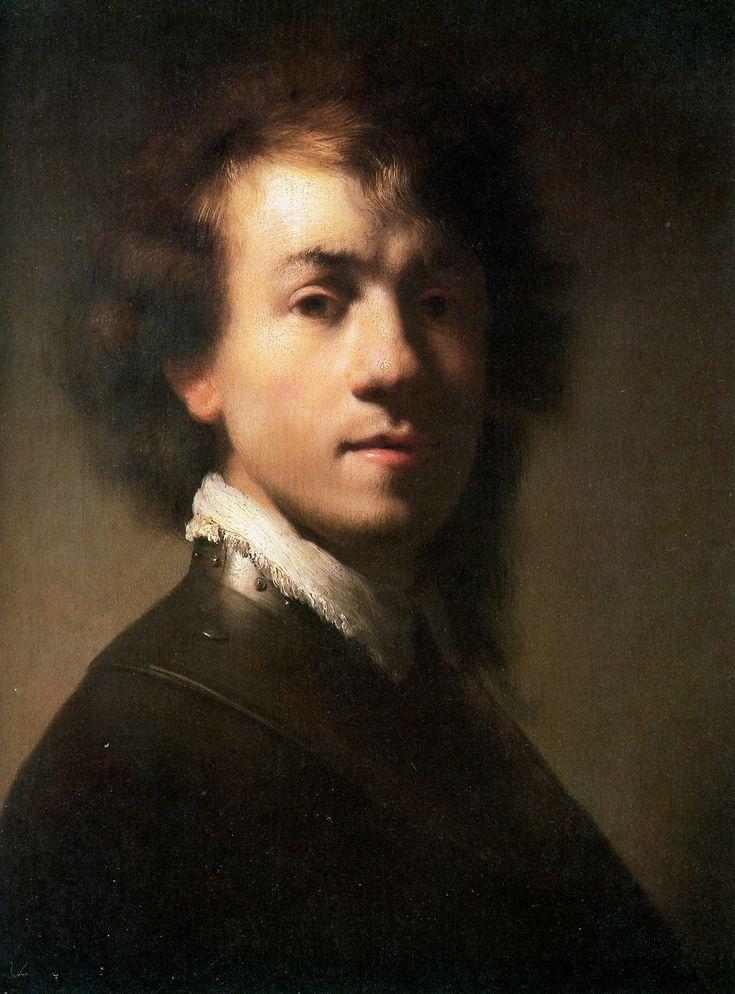 Rembrandt van Rijn, Self-portrait In A Gorget, c. 1629