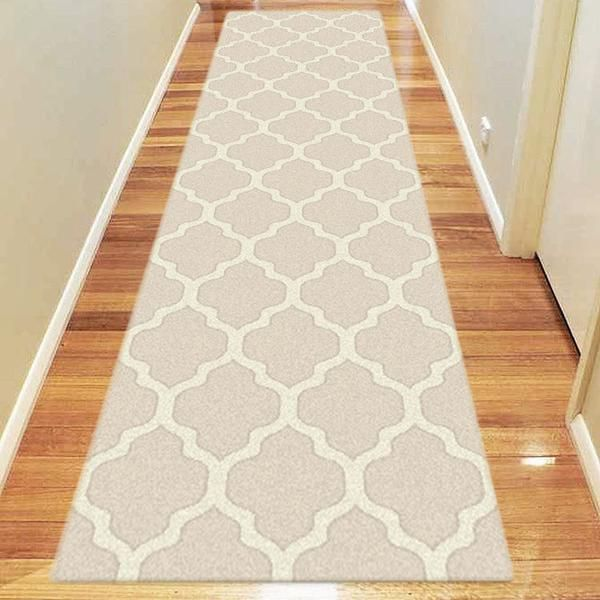 The Dover Lattice Beige Cream Modern Trellis Rug is a beautiful contemporary rug featuring an on trend trellis design in neutral tones - available in standard runner & rectangular sizes: