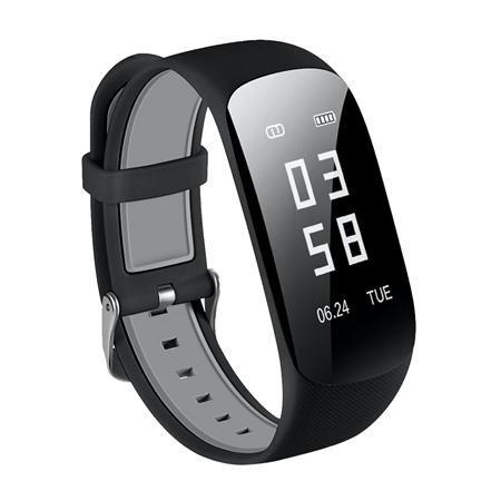 "OLLIVAN Z17 HR Smart Wristband 0.96"" OLED Screen Touchpad Heart Rate Monitor Push Message Smart Bracelet Waterproof Smart Band"