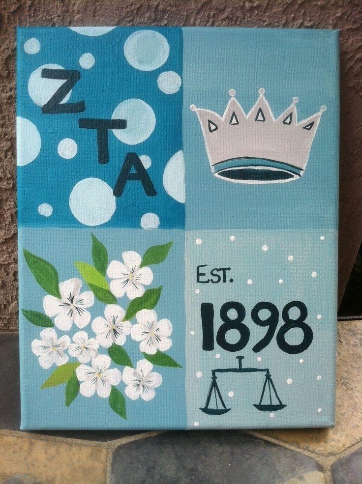 Gift Ideas | Zeta Tau Alpha | canvas cute♛