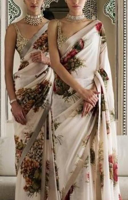 #modernsari #indianfashion 6