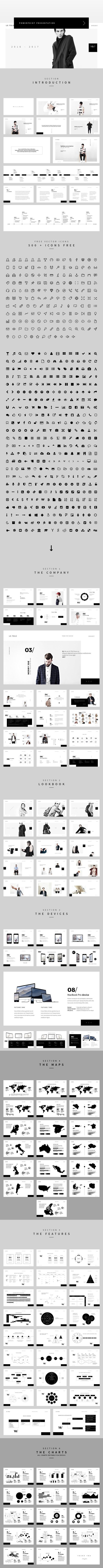 The Fashion PowerPoint. Keynote Templates. $20.00