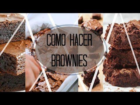COMO HACER BROWNIES FÁCILMENTE! / 2015 MARÍA CONCEPCIÓN