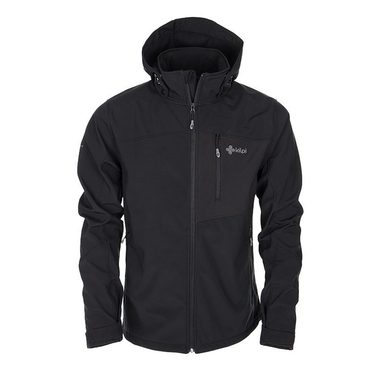Men's softshell jacket KILPI - ELIO - black