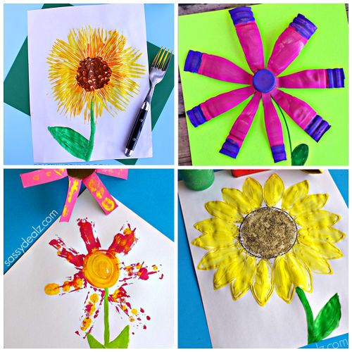 Spring Art Crafts For Kids