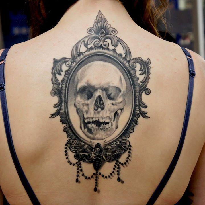 Skull Tattoos by Adem Senturk, more tattoo designs and skull inspirations at skullspiration.com