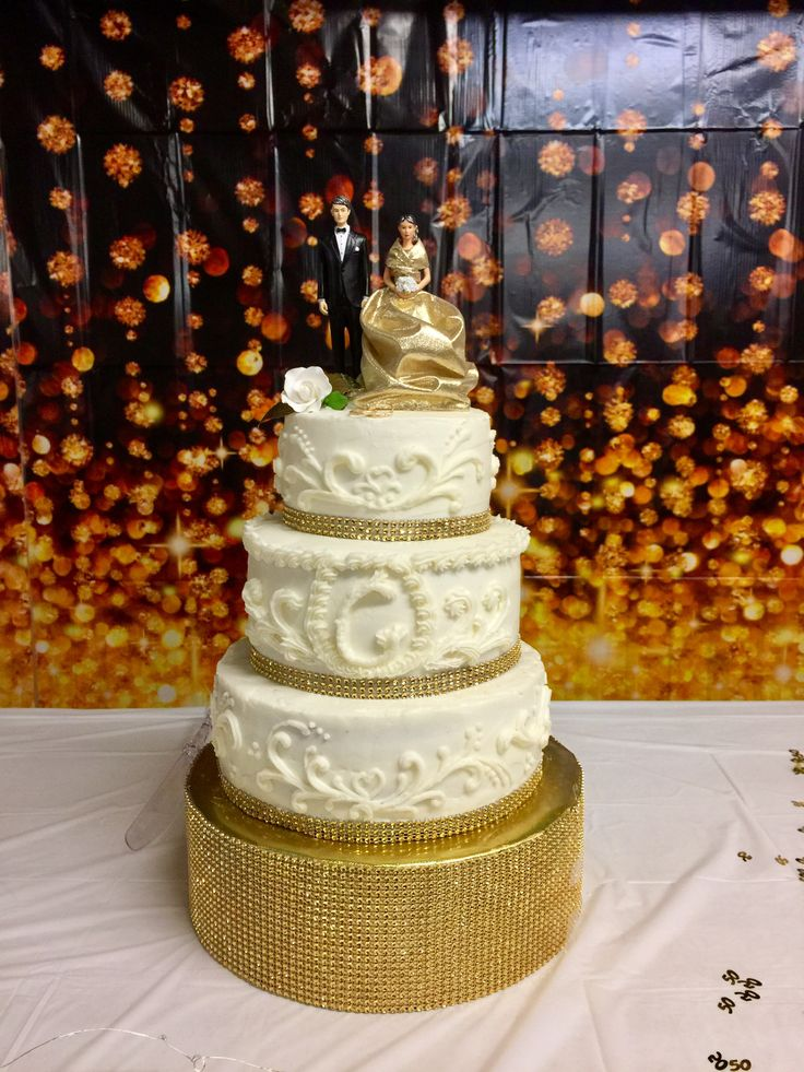 25 Best Ideas About 50th Wedding Anniversary Cakes On Pinterest