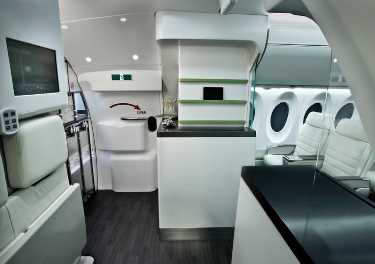 Bombardier CSeries  Entry  Galley  First Class  It39s Written In The C