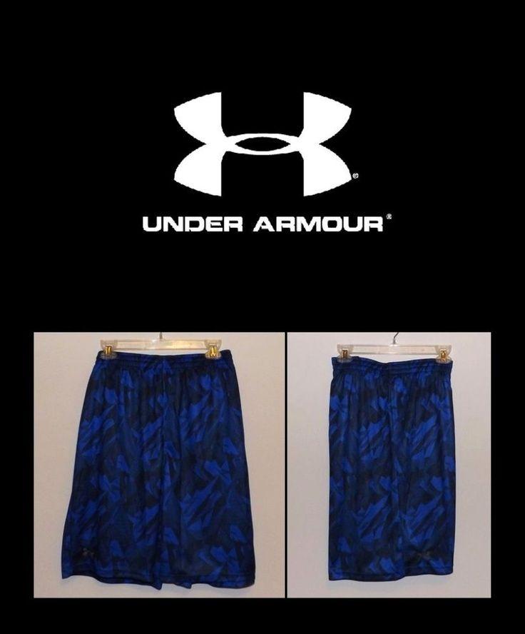 "MEN'S UNDER ARMOUR FLEX PRINTED TRAINING SHORTS 10"" INSEAM SIZE 2XL 1228561 NWT #UnderArmour #Shorts"