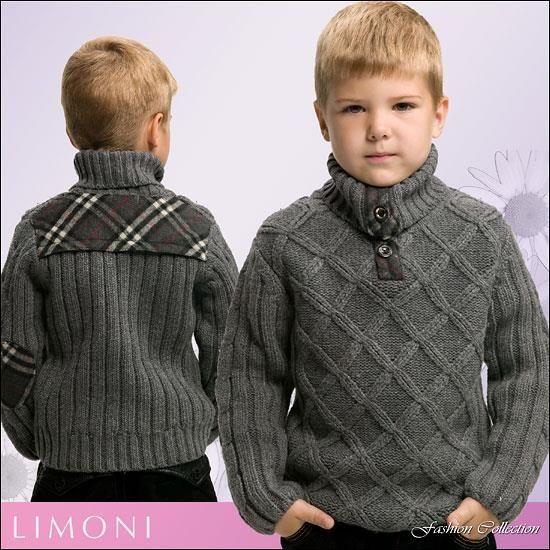 Вязаие свитер для подростка