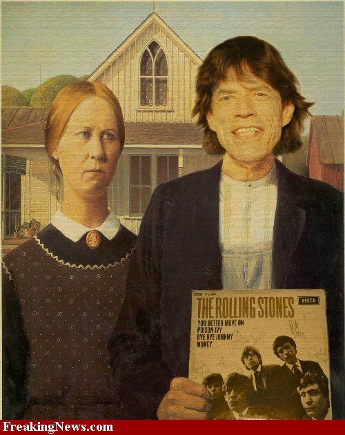 Jagger's American Gothic