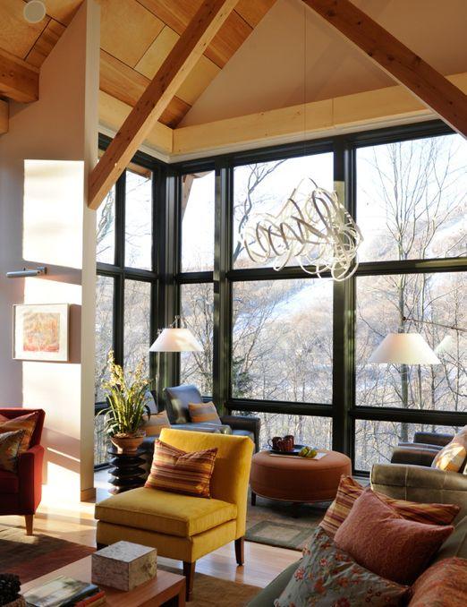modern lodge #home #decor #living