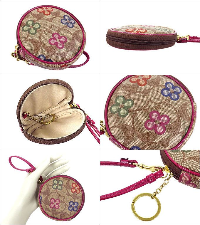 coach coin purse outlet nd3c  import-collection: COACH purse coach  coin multicolor Peyton signature  clover coin Perth outlet product discount % Women's sale-SALE store