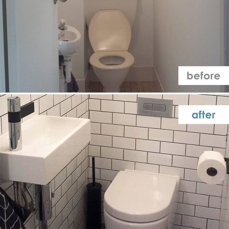 We love a before and after! And we love getting sent awesome transformations - big or small. This one sent in from Sydney Interior Design studio Design Haze leaves plumbing points in the same positions to minimise mucking around in such a tiny space. Replacing tired old fixtures with modern alternatives plus add in some chic white subway tiles, and this teeny powder room looks the best it ever has!