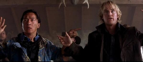 26 May 2000, saw the US release of Shanghai Noon, featuring Jackie Chan & Owen Wilson & grossed over $99 million