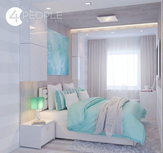 Die besten 25+ Türkis graue schlafzimmer Ideen auf Pinterest - trkis bilder frs schlafzimmer